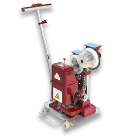 Auto Eyelet Punching Machine image
