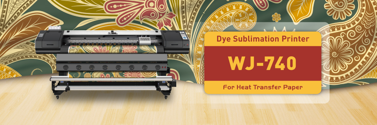 Dye Sublimation Printer WJ-740 image